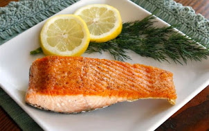 Cá Hồi Filet Có Da Áp Chảo