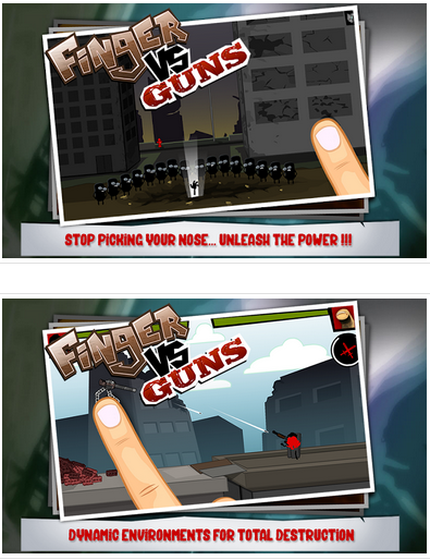 finger vs guns v1.0.5 apk mod unlimited