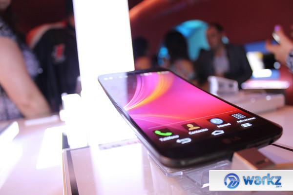 LG G Flex de venta en México