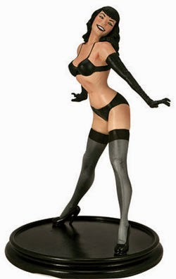 Betty_Page_statue