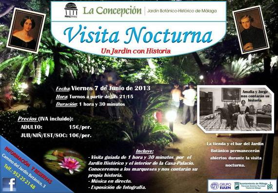 Visita Nocturna Finca de la Concepción