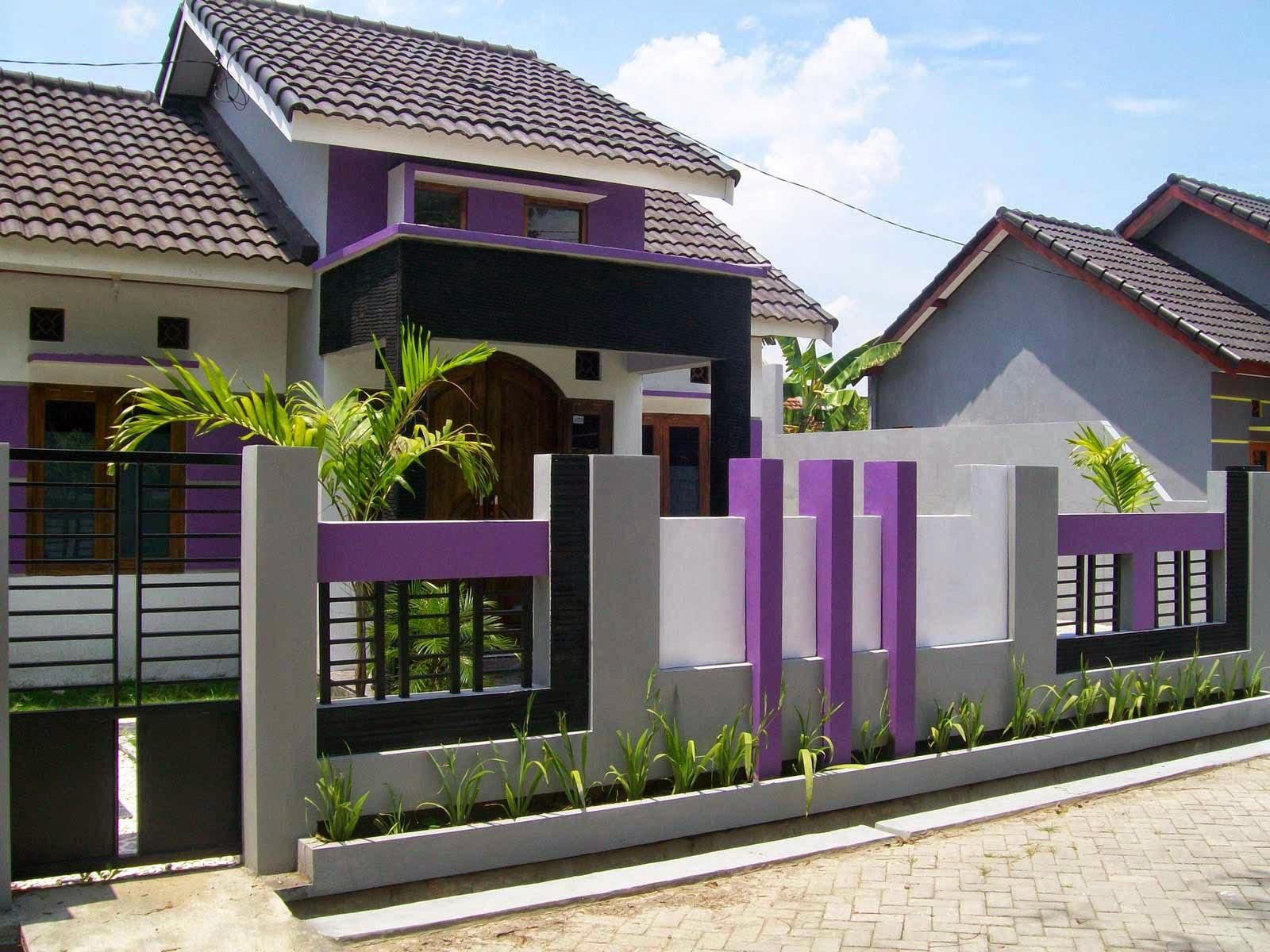 Model-Fence-Minimalist-Home-Color-Purple-Cat