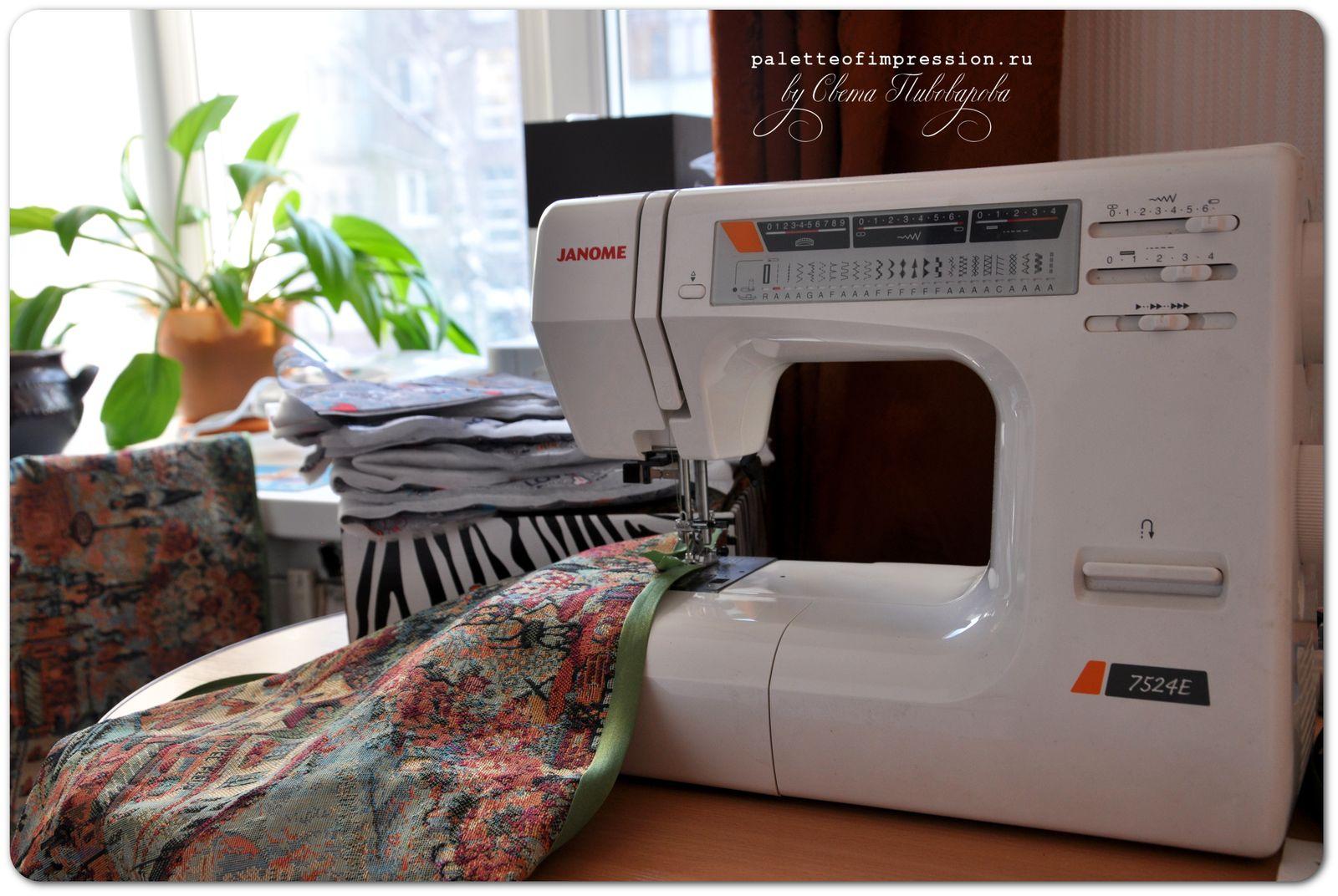 Проект: рабочее место 3/52. Шитье. Рабочее место со швейной машинкой