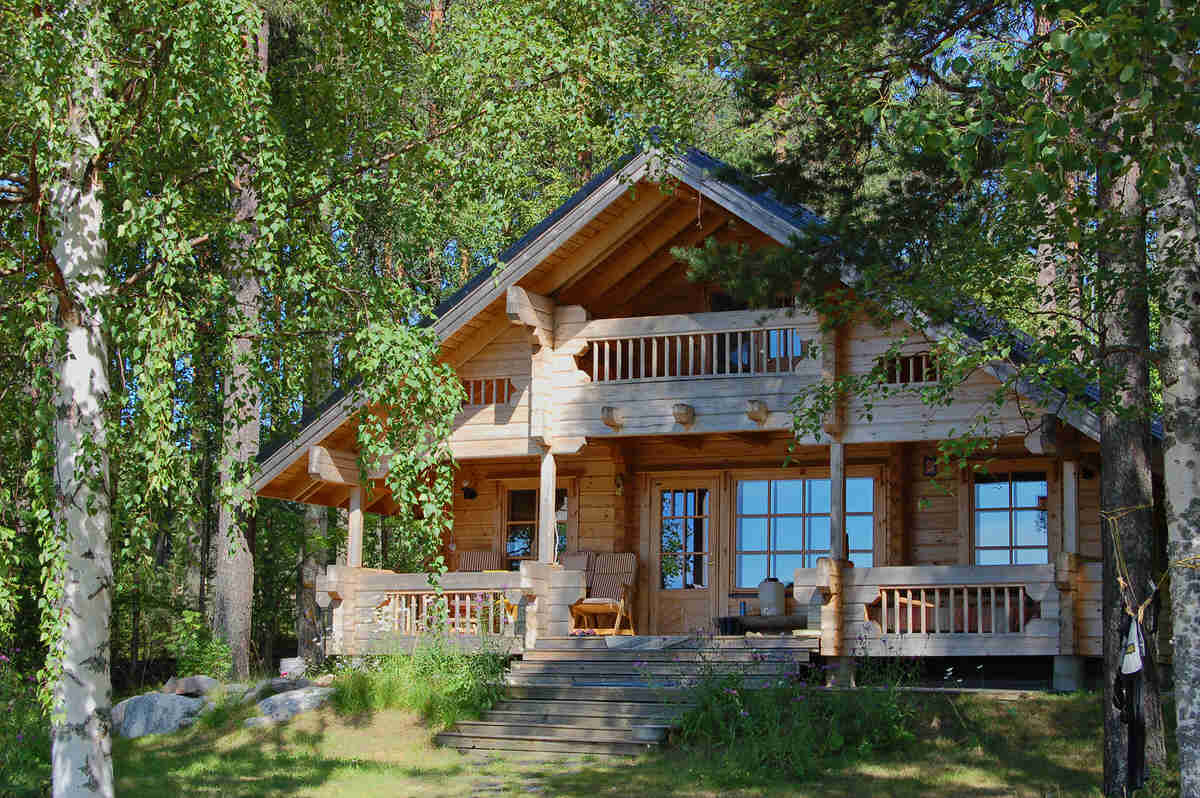 Awesome small cottages go ahead far away for Cabin home designs
