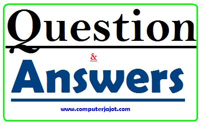 Basic Computer Knowledge Questions and Answer