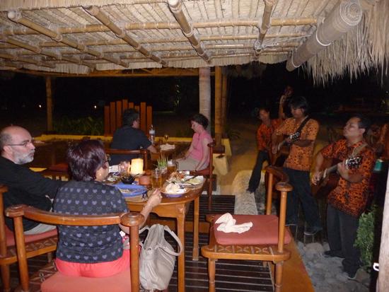Banda de música en Lombok