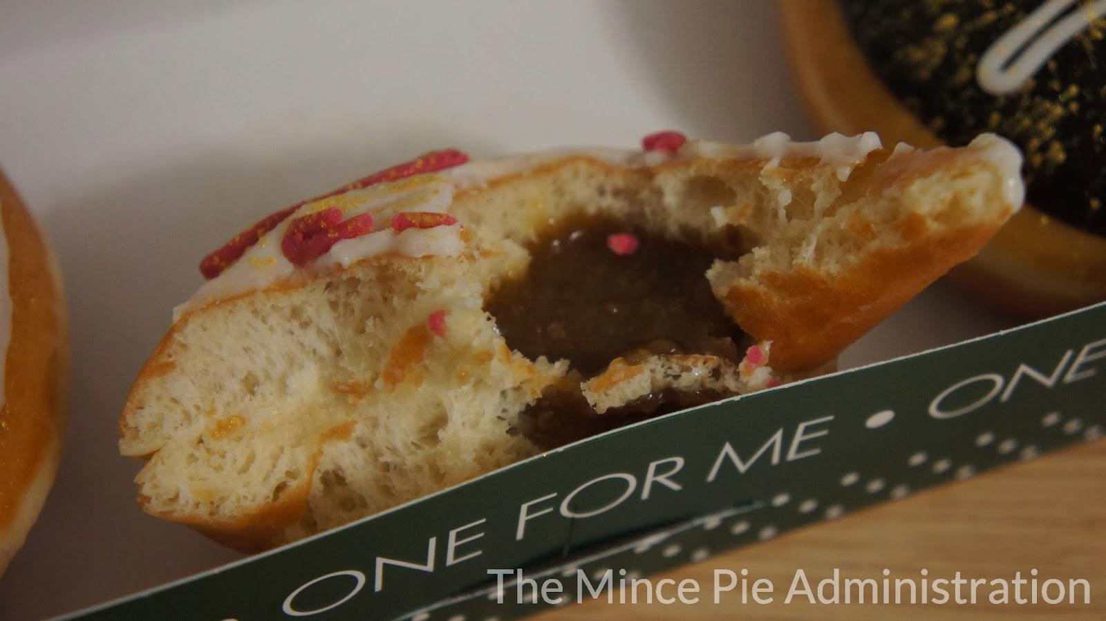 The Mince Pie Administration: Krispy Kreme - Mince Pie Doughnut