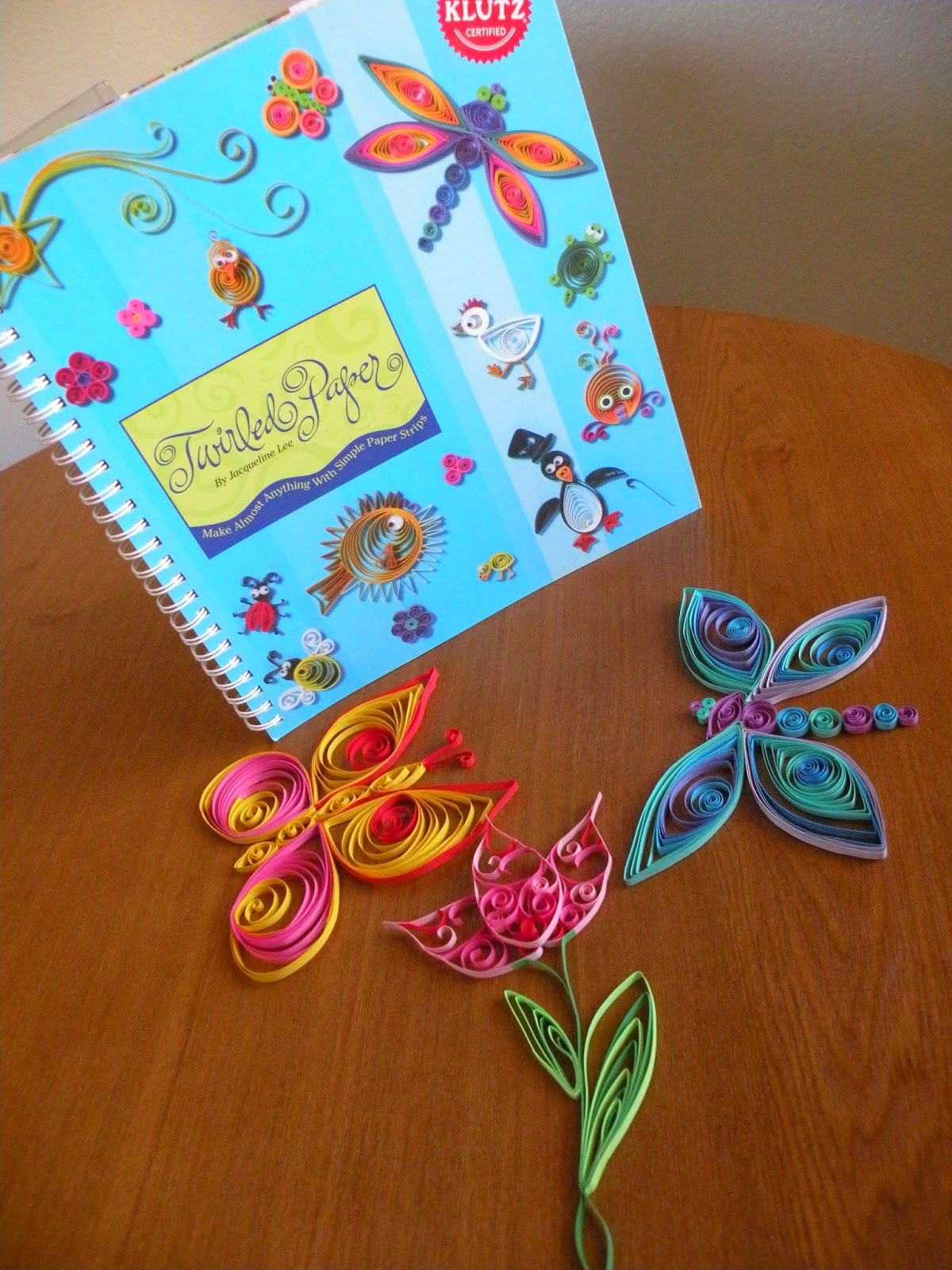 Quilling for spring and beginners