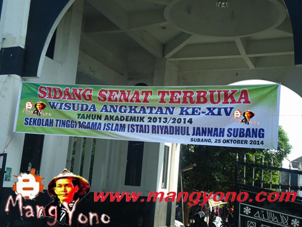Wisuda STAI RIYADHUL JANNAH Subang di Islamic Center