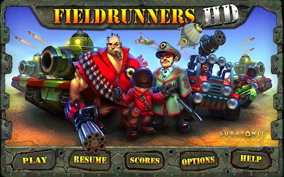 تحميل لعبة Fieldrunners HD