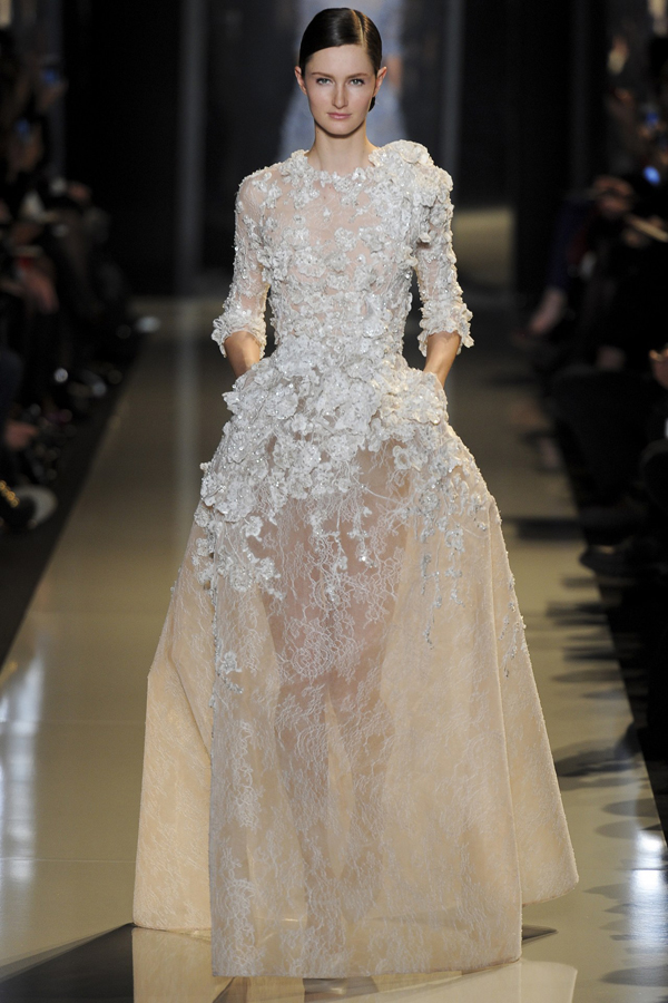 Elie saab haute couture spring 2013 luxury passion for Hout couture
