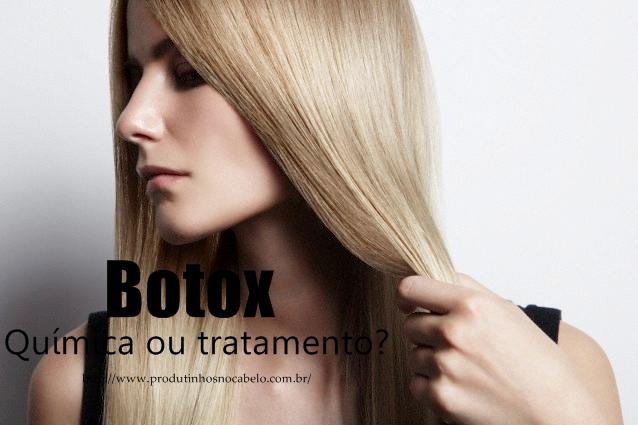 Botox – Química ou tratamento?