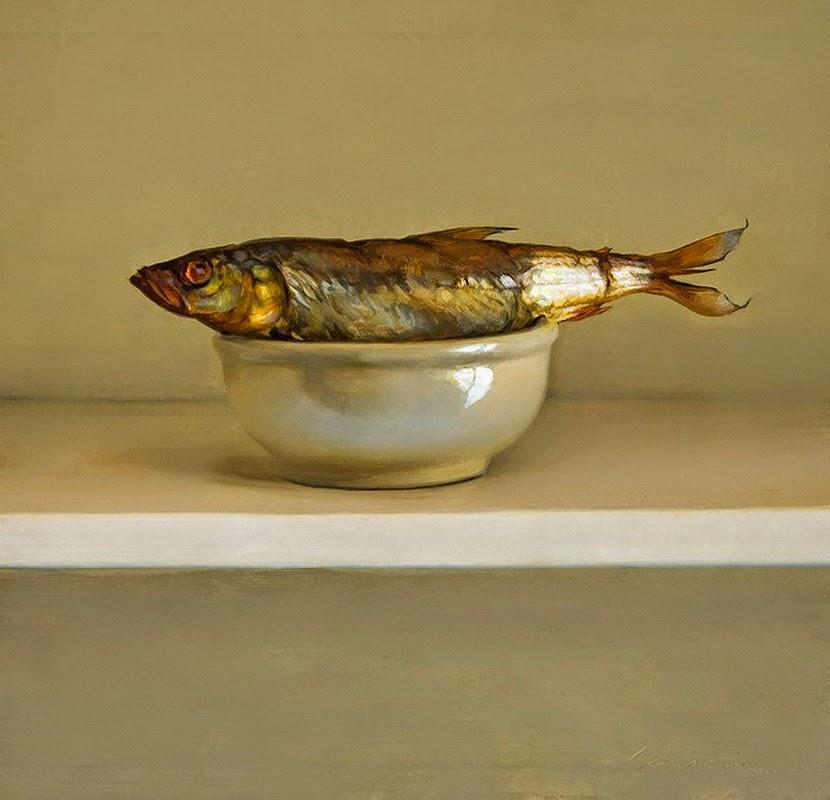 Im genes arte pinturas bodegones con pescados pinturas for Cuadros de peces