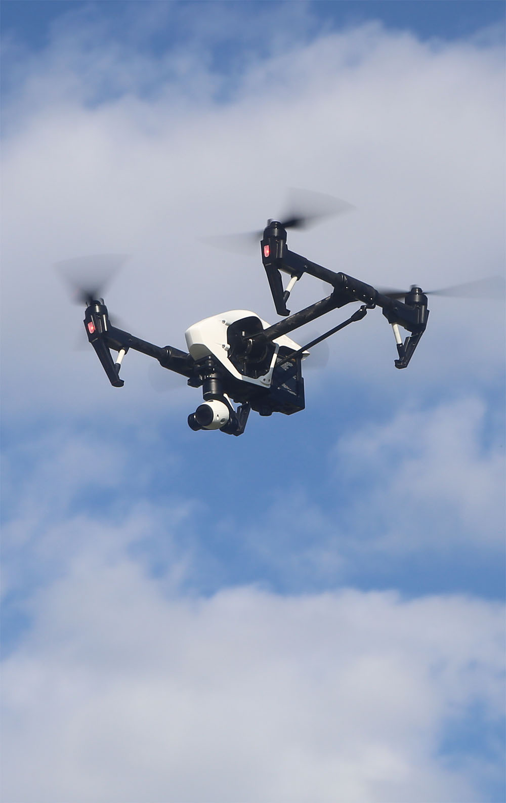 Inspire 1 in Flight