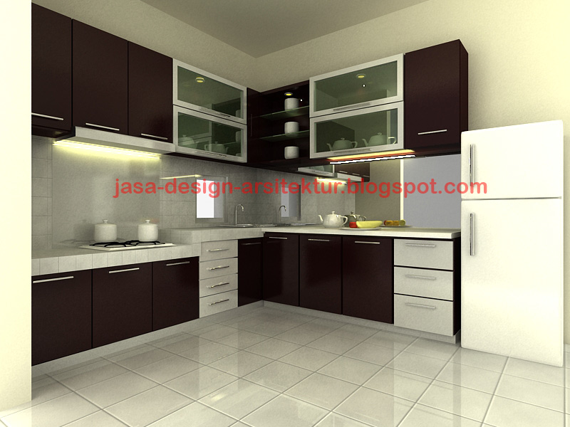 Info rumah dan interior desain kitchen set minimalis for Kitchen minimalis