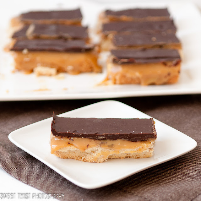 Sweet Twist of Blogging: Millionaires Espresso Shortbread