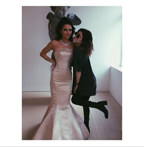Met Gala 2014 kendall kylie jenner