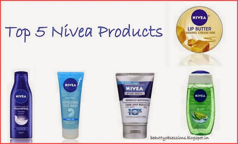 Top 5 NIVEA Products Which You Love To Repurchase Many Times...