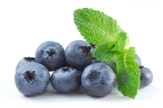 prevent obesity with Blueberries