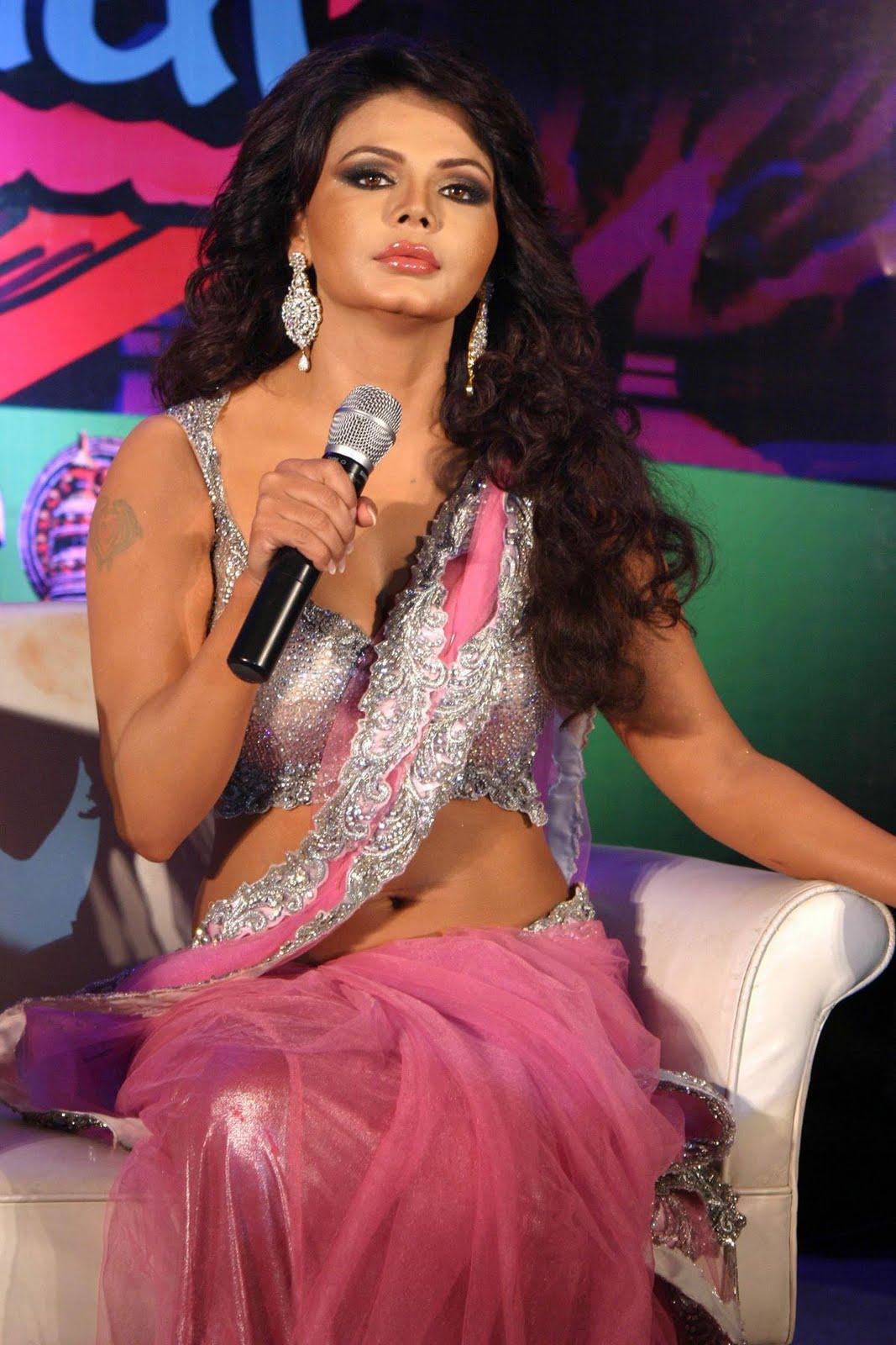 Rakhi sawant boob show