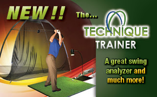 Technique Trainer golf swing analyzer