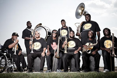 Hot 8 Brass Band Eric's Liverpool 20 July
