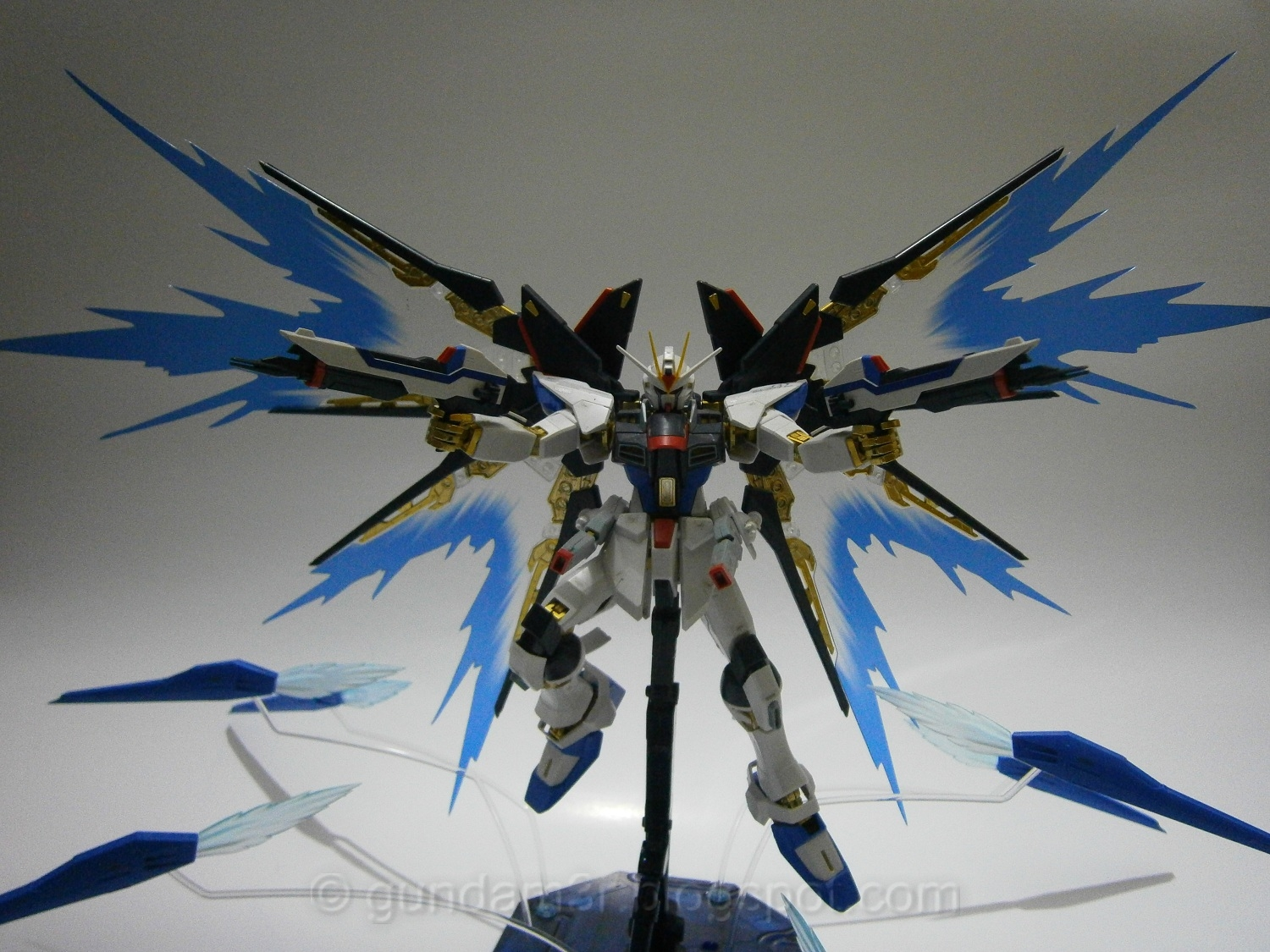 Add On: Wing of Light Effect for Strike Freedom Gundam MG ...