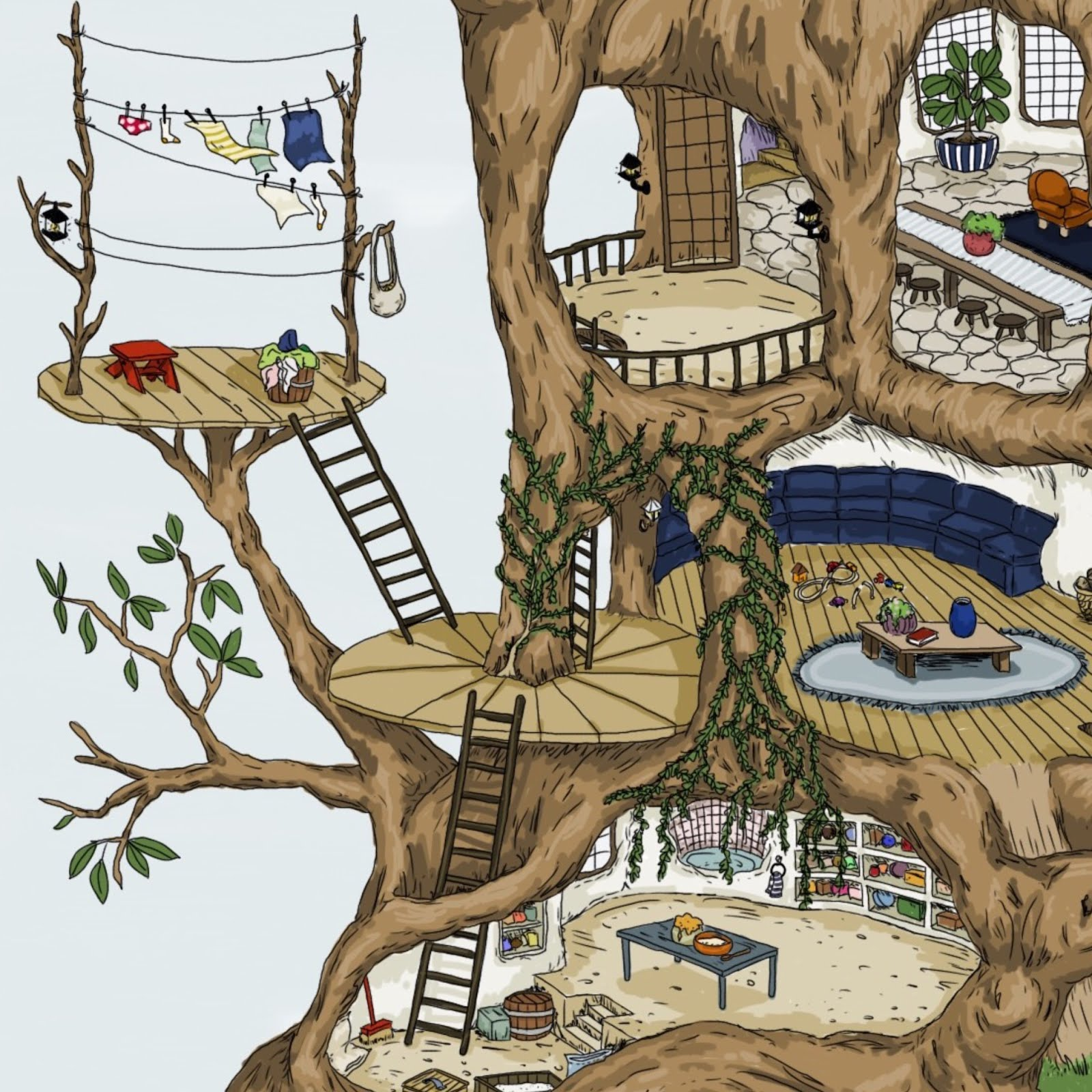 Shop Tree House Prints