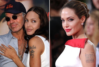 Angelina Jolie Tattoo Removed