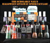 The Scholarly Nail's Halloween Giveaway Spooktacular!