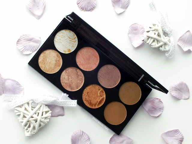 Dino's Beauty Diary - Makeup Review - Makeup Revolution 'Golden Sugar' Ultra Blush and Contour Palette