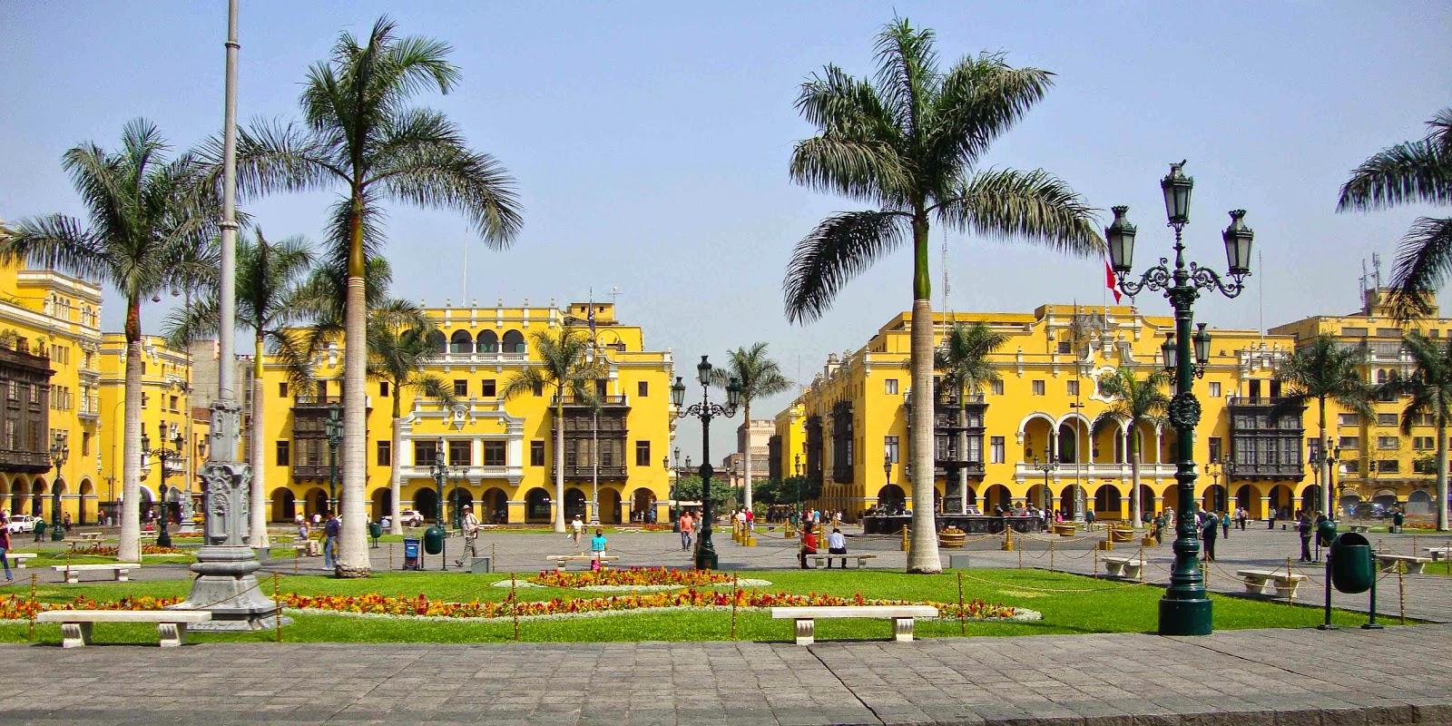 La Plaza Mayor Ciudad de Lima