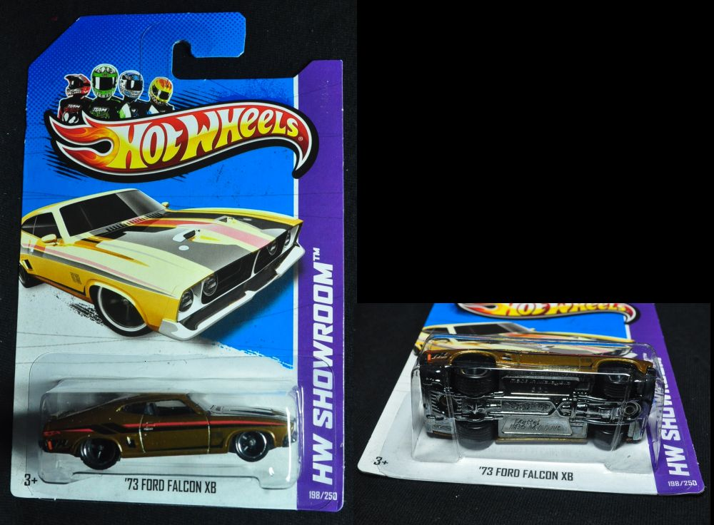 4766af hot wheels 2013 super treasure hunts 73 ford falcon xb usa card