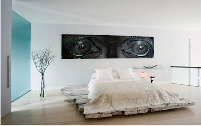 Decoração de quarto de casal bonita
