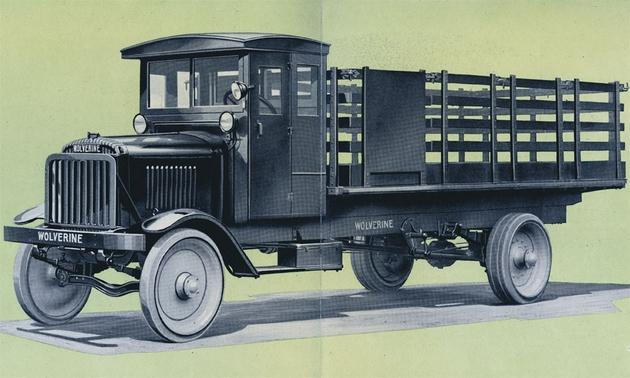 Click on the old truck to go to my scale model index ~