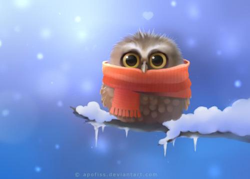 Winter Animals Desktop Wallpaper