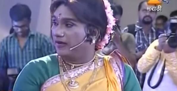 Watch Bhau Kadam As Shantabai Kamwali