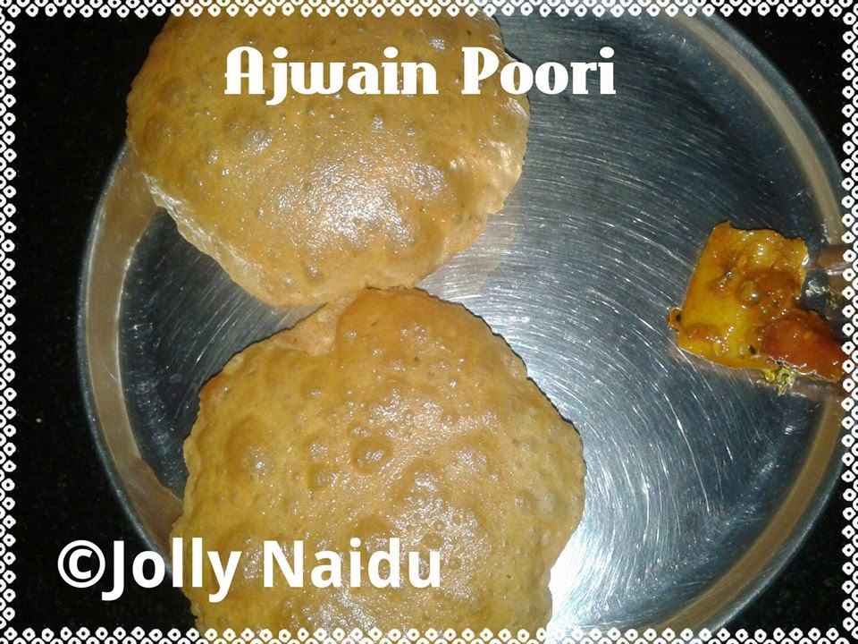 Crunchy Ajwain Poori | Ajwain Poori | Ajwain Poori Recipe