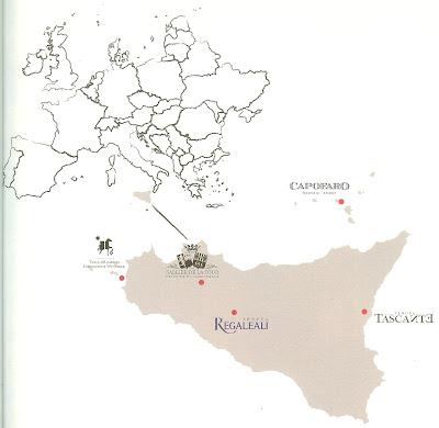 Tasca d'Almerita na Sicília