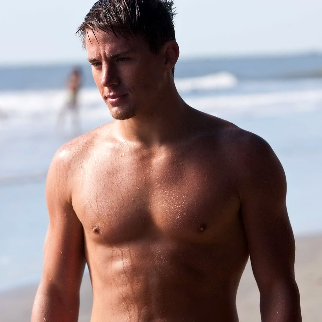 Picture About Male Model and Actor Channing Tatum Shirtless