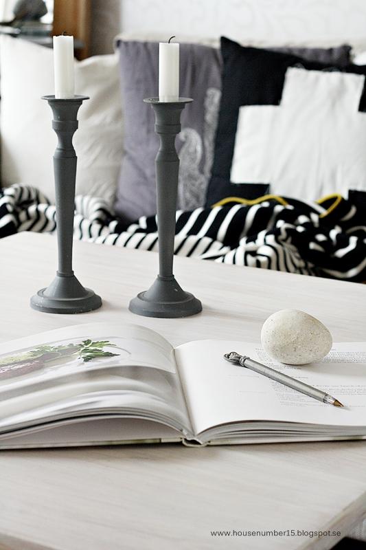 como hacer cálido un salón gris y blanco!
