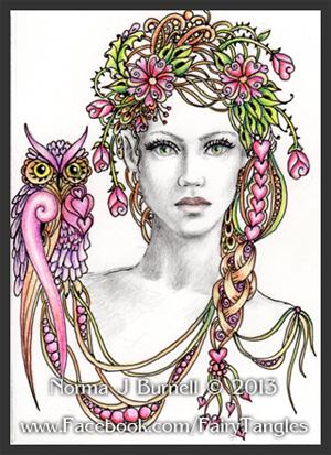 Fairy Tangles February 2013