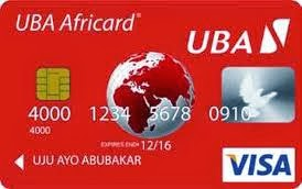 GET YOUR OWN AFRICARD FROM UBA « Anything Money And IT Information ...