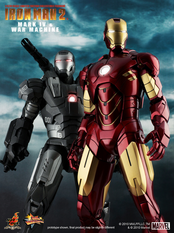 Iron man 2 mark 4 movie masterpiece 10