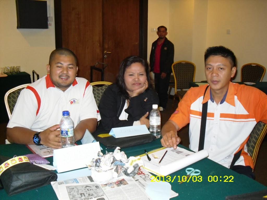 Kursus pengurusan masa 2-4 Oktober 2013
