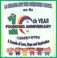 10th founding anniversary of La Carlota SPED integrated school