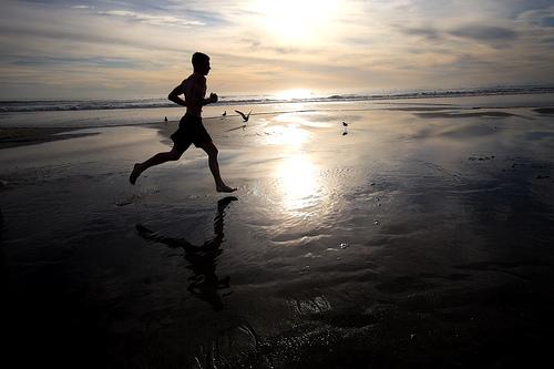 run through pain