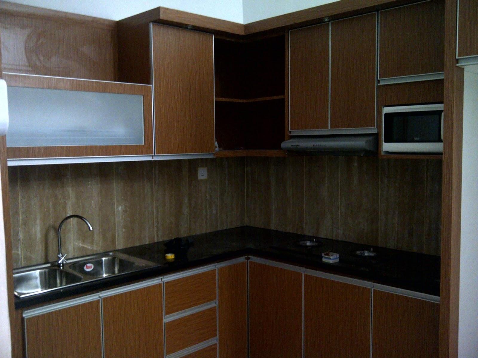 Jasa pembuatan kitchen set dapur rumah minimalis for Kitchen dapur