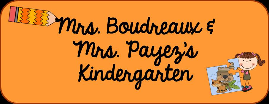 Mrs. Boudreaux's Kindergarten
