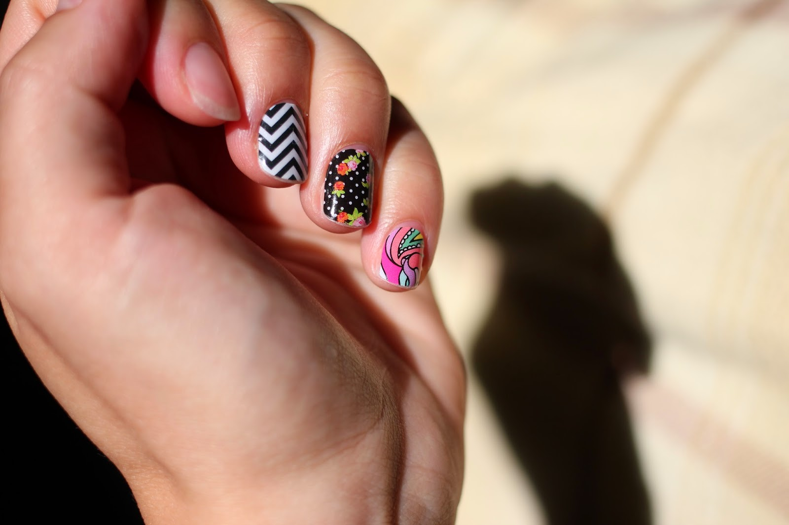 Mommyscape: [Nails] Jamberry: First Impressions